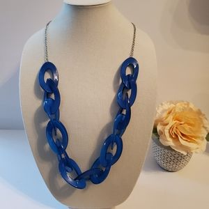 The Limited Acrylic Royal Blue Necklace